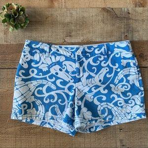 Lilly Pulitzer Gabby Gator Womens Shorts
